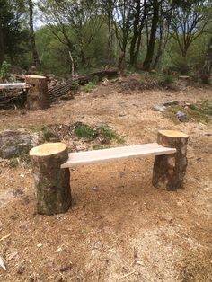 Items similar to Chainsaw Carved rustic Tree log garden seat on Etsy - Raleigh Leyre Backyard Seating, Rustic Backyard, Garden Seating, Backyard Patio, Backyard Landscaping, Garden Benches, Steep Backyard, Tree Furniture, Garden Furniture