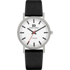 Rhine White Black Medium Titanium Watches, Led Watch, Bottle Art, Black Media, Danish Design, Black Is Beautiful, Trends, Watches For Men, Women's Watches