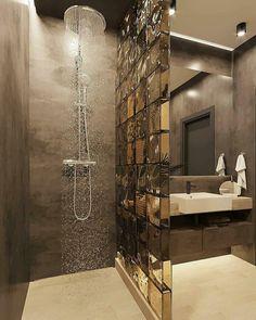 Washroom Design, Toilet Design, Bathroom Design Luxury, Bathroom Layout, Modern Bathroom Design, Designs For Small Bathrooms, Small Luxury Bathrooms, Small Bathroom Interior, Ideas Baños