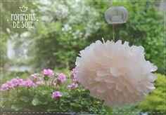 DIY : Pompons de soie