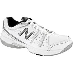 Offering an excellent combination of comfort and stability with a rich leather upper, the 656 is New Balance's most versatile tennis shoe. Upper: High abrasion long wear drag tip provides outstanding durability. Leather upper provides durability and support and has strategic perforations for ventilation. Padded air mesh tongue and heel collar provide increased cushioning, breathability and comfort. Midsole: Lightweight C-Cap compression molded EVA midsole provides cushioning and flexibility…