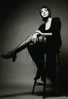 Lisa Minnelli by Jeanloup Sieff 1969