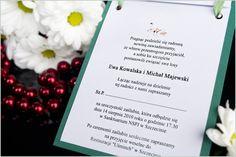 Zaproszenia ślubne KAL
