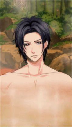 Inuchiyo in a hot tub? Cool Anime Guys, Anime Boys, Anime Sexy, Samurai Love Ballad Party, Party Characters, Anime Boyfriend, Bishounen, Manga Boy, Dibujo