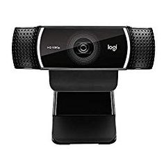 Logitech Pro - A brilliant all-round webcam, and great for streaming. Best Webcams for Working From Home and Streaming Logitech, Notebooks, Blue Microphones, Usb Microphone, Video Capture, Types Of Cameras, Desktop Accessories, Video Camera, Pro Camera