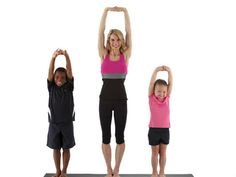 More yoga poses you can do with your kids Yoga For Kids, Exercise For Kids, Fitness Diet, Yoga Fitness, Wellness Tips, Health And Wellness, Kristin Mcgee, Family Yoga, Childrens Yoga