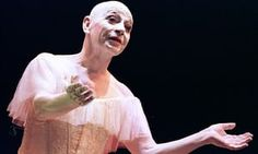 Lindsay Kemp in a scene from Dreamdances at the Peacock Theatre in 2002