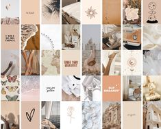 Brown Aesthetic, Aesthetic Collage, Aesthetic Vintage, Bedroom Wall Collage, Photo Wall Collage, Photo Collages, Minimal Photo, Journal Stickers, Iphone Wallpaper