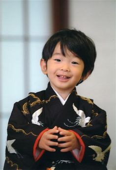 Prince Hisahito of Japan.  What a cutie.