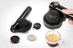 Handpresso Wild Hybrid Espresso Machine #coffeemaker #campingcoffeemaker #handpresso