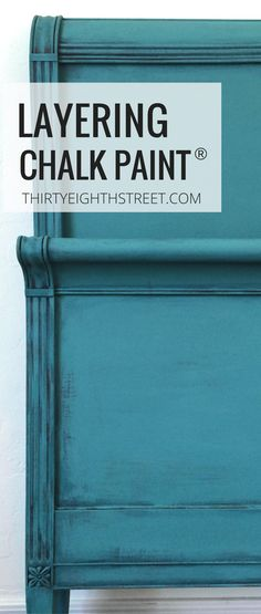Painting Furniture- How To Layer Chalk Paint®️️️️ On Furniture. Layering Chalk Paint®️️️️ Techniques For Furniture. Learn How To Layer Paint Colors Easily With This Fabulous Furniture Tutorial! Chalk Paint Techniques, Furniture Painting Techniques, Chalk Paint Projects, Diy Projects, Painted Bedroom Furniture, Chalk Paint Furniture, Distressed Furniture, Paint Colors For Furniture, Chalk Paint Wardrobe