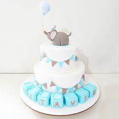 Torta elefante! para un añito!