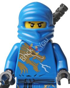 LEGO Ninjago Jay DX Dragon Suit Photo njo016 Digital by Brick2you