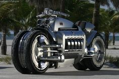 Dodge Tomahawk. Top speed: 420 mph. Engine: Viper V10. Production was limited to 9 units of this concept bike, which sells for 555,000 dollars. Chrysler said they are having serious thoughts about going mainstream with a price of 250,000 dollars, even though the motorcycle is not street legal.