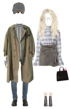 """""""ー totoroto couple"""" by hxxs ❤ liked on Polyvore featuring Kenzo, IRO, Balmain, Topshop, Burberry, STELLA McCARTNEY, Givenchy and GlassesUSA"""