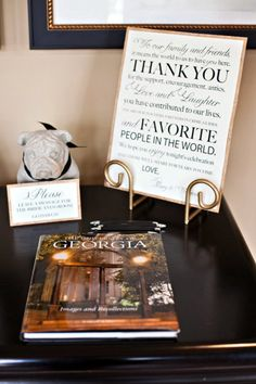 Custom Wedding Thank You Sign 8x10 or 11x14 by PuddleduckPaperCo, $1.00