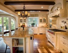 Beautiful Country Kitchen! Maybe one day dreams can come true!