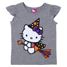 Baby Girls' Hello Kitty T-Shirt - Grey : Target