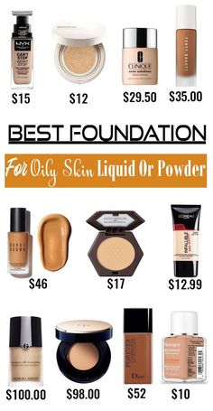 Best Foundation For Oily Skin With Full Coverage Philippines – Is the fact that midday shine your beauty nemesis? Feel like you constantly battle with breakouts? If you haven't got the best foundation Full Coverage Drugstore Foundation, Bb Cream Foundation, Best Foundation For Oily Skin, Airbrush Foundation, No Foundation Makeup, Top Foundations, Farmasi Cosmetics, Greasy Skin, Makeup Dupes