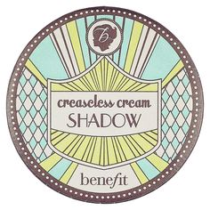 Benefit Cosmetics Creaseless Cream Shadow: Shop Eyeshadow | Sephora