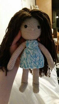 Gehäkelte Puppe nach Anleitung von Isabella Kessedjian