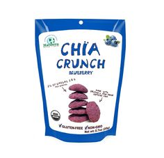 Natierra, Organic and Fair Trade Chia Crunch, Blueberry, 0.7 Ounce -- Visit the image link more details.
