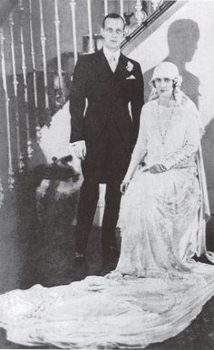Audrey Emery and Grand Duke Dmitri Pavlovich. 1926/  Russian Imperial Highness and one of the few Romanovs to escape murder by the Bolsheviks after the Russian Revolution. He is known for being involved in the murder of the mystic peasant and faith healer Grigori Rasputin, whom he felt held undue sway over his first cousin Tsar Nicholas II.