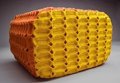 Unique Furniture Design Ideas, Modern Furniture Covers Made of Knitted and Crocheted Shapes