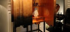 D. MANUEL | Modern Bronze Gradient Cabinet by Boca do Lobo