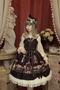 [-⌚-The Last Time Reminder-⌚-]: Honey Honey™ [-✌-Cats Self-portraits-✌-] Pre-order will END TOMORROW >>> http://www.my-lolita-dress.com/honey-honey-cats-printed-lolita-jumper-dress-hh-3