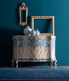 It's so Cerulean (ZsaZsa Bellagio) Luxury Furniture, Furniture Design, Palm Beach Decor, Home Suites, Cerulean, Miniature Furniture, Elegant Homes, Interior Design Studio, Home Living Room