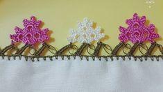 Knitted Shawls, Knitted Poncho, Crochet Borders, Crochet Videos, Diy Embroidery, Knit Or Crochet, Crochet Flowers, Crochet Projects, Knitting Socks