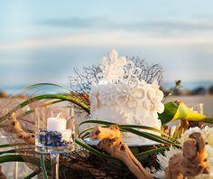 "Elegant, Beach Inspired ""California Coastal"" Wedding"