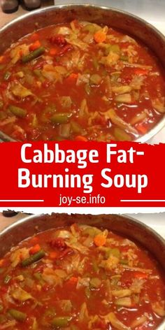 Cabbage Fat-Burning Soup Ingredients Choose your zip pick favorite stores 5 carrot chopped 3 onion chopped 2 can oz each) whole peeled tomatoes with liquid 1 large head cabbage chopped 1 oz envelope) dry onion soup mix 1 can oz) Cabbage Fat Burning Soup, Beef Cabbage Soup, Cabbage Diet, Cabbage Soup Recipes, Diet Soup Recipes, Cooking Recipes, Healthy Recipes, Recipe For Weight Loss Cabbage Soup, Healthy Foods