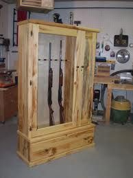 Gun Cabinet From One Of Max's Fanpager's! Nice Woodworking. https://www.facebook.com/plansforwoodworking