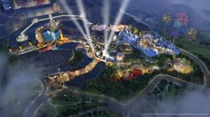 Concept art of Twentieth Century Fox in Malaysia. (FOX CONSUMER PRODUCTS & RESORTS WORLD GENTING)