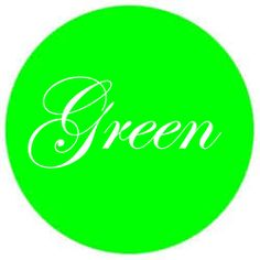 The color green a calming agent  ,