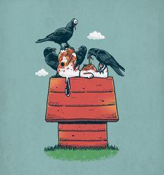 dead Snoopy