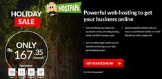 Save huge on Web Hosting This Christmas Holiday Season with HostPapa India.Get Powerful web hosting to get your business online at discounted price. Learn more.