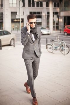 costard homme pas cher gris anthracite