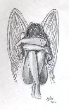 Beautiful Angles Im Heavem Drawing Step By Step - 13 Best Drawings Of Angels Images Drawings Angel Drawing Sketches Angel Wings Heaven Girl Art Print Emo Fantasy Girl Zindy Nielsen Angel Girl Drawing . Easy Pencil Drawings, Amazing Drawings, Art Drawings Sketches, Beautiful Drawings, Cute Drawings, Amazing Art, Girl Drawings, Sad Girl Drawing, Easy Sketches To Draw