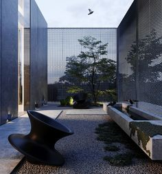 Project HD on Behance Design Exterior, Roof Design, House Design, Chinese Architecture, Architecture Details, Landscape Architecture, Landscape Concept, Garden Landscape Design, Elle Decor