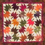 Mini Maple Leaves  by Always Quilting