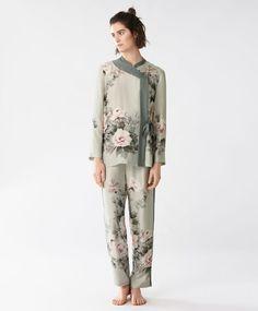 Φλοράλ παντελόνι - null - Autumn Winter 2016 trends in women fashion at Oysho pijamas