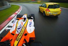 Part Renault Test Drive - The Megane Megane R26, Clio Rs, Driving Test, Badge, Badges