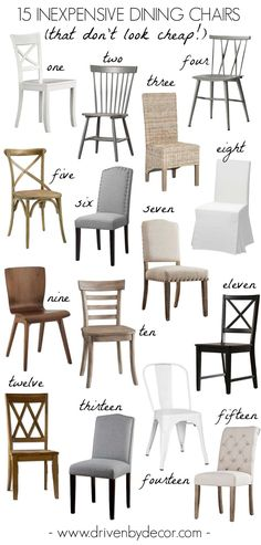 Inexpensive Living Room Chairs components can add a touch of style and design to any house. Inexpensive Living Room Chairs can imply many things to many… Farmhouse Dining Chairs, Modern Dining Chairs, Dining Table Chairs, Dining Sets, Small Dining, Upholstered Dining Room Chairs, Cheap Dining Tables, Painted Dining Chairs, Wingback Chairs