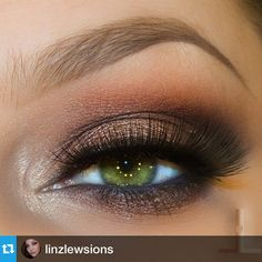 SnapWidget | #Repost @linzlewsions with @repostapp. ・・・ @makeupgeekcosmetics shadows peach smoothie, bling, cocoa bear and foiled shadow mesmerized also a little corrupt on the outer v area @anastasiabeverlyhills Brow powder in brunette, @esqido amp it up lashes @luxiebeauty eye brushes ❤️