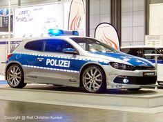 Volkswagen Scirocco - Police Car