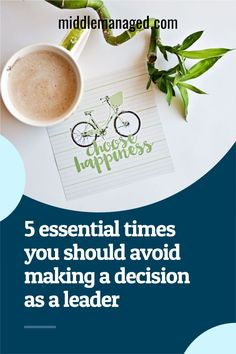 The best course of action at times can be inaction. Here are five times where it is the right choice to avoid making a decision as a leader. #leadershipdevelopment#newmanager#leadershipactivities#leadershipcommunication Leadership Activities, Leadership Tips, Leadership Development, Career Success, Career Advice, Personal And Professional Development, Personal Development, Boring Person, Workplace Wellness