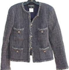 Brigitte Bardot draagt Auth Vintage (jas )